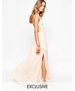 Goldie | Платье Макси С Открытой Спиной