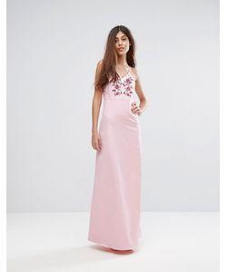 Y.A.S. | Платье Макси С Вышивкой Studio