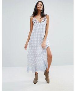 Raga | Платье Макси С Принтом Santa Barbara