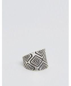 Asos | Серебристое Кольцо Геометрической Формы