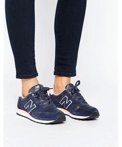 New Balance | Синие Замшевые Кроссовки 373