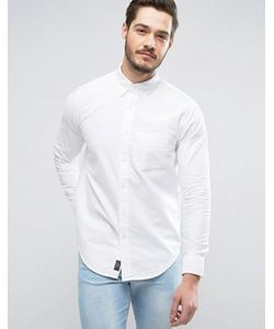 Abercrombie and Fitch | Приталенная Оксфордская Рубашка С Одним Карманом Abercrombie Fitch