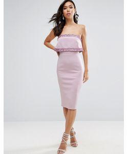 Asos | Платье Миди Бандо