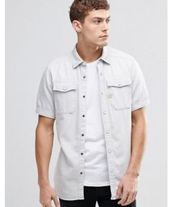 G-Star | Джинсовая Рубашка С Короткими Рукавами Landoh