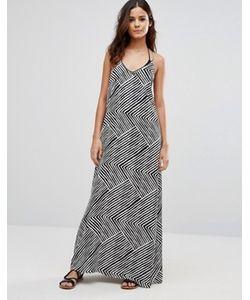 Echo | Пляжное Платье Макси С Принтом
