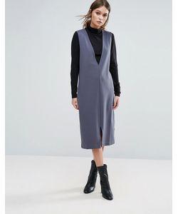Selected | Платье С Глубоким V-Образным Вырезом Femme