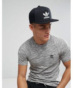 37b06b6dd adidas Originals - Черная Бейсболка С Логотипом-Трилистником Bk7324