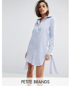 Boohoo Petite | Платье-Рубашка В Полоску