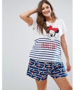 Yours | Пижамный Комплект С Минни-Маус Clothing