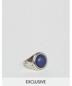 DesignB London | Серебряное Кольцо С Массивным Камнем