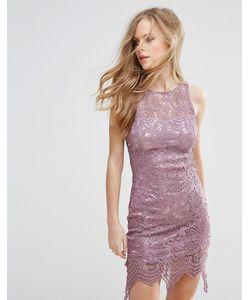 Glamorous | Кружевное Свободное Платье