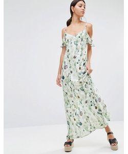 Oh My Love | Платье Макси С Открытыми Плечами