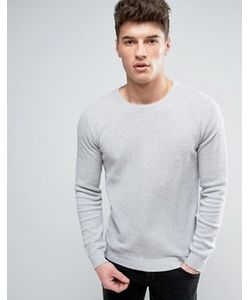 Solid | Textured Knit Jumper In
