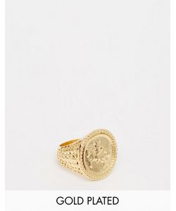 Asos | Золотистое Кольцо Sovereign