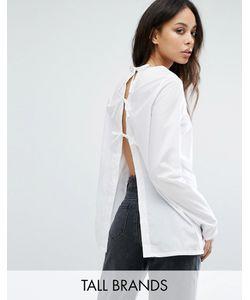 Noisy May Tall | Рубашка С Открытой Спиной И Бантами