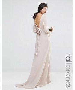 TFNC Tall | Платье Макси С Длинными Рукавами Wedding