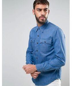 Levi's® | Синяя Джинсовая Рубашка Levis Tab