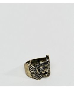 Asos | Золотистое Кольцо Со Львом Plus