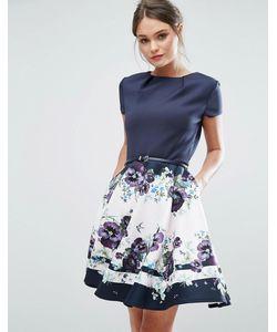 Ted Baker | Короткое Приталенное Платье Stefh