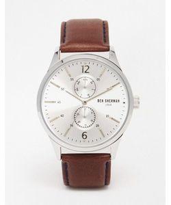 Ben Sherman | Часы С Коричневым Кожаным Ремешком Spitalfields