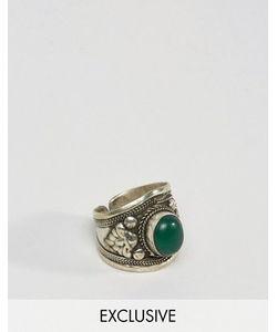 Reclaimed Vintage | Серебристое Кольцо С Камнем