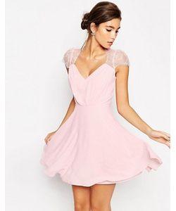 Asos   Кружевное Платье Мини Kate