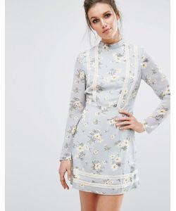 MISSGUIDED | Чайное Платье С Цветочным Принтом