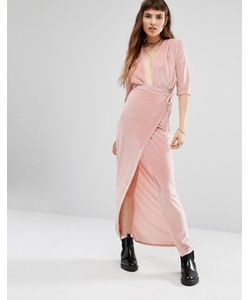 Rokoko | Платье Макси С Запахом Спереди