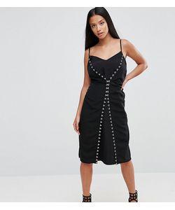 ASOS PETITE | Платье-Комбинация С Декоративными Крючками