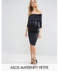 ASOS Maternity | Платье С Широким Вырезом Petite