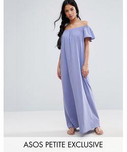 ASOS PETITE | Платье Макси С Открытыми Плечами