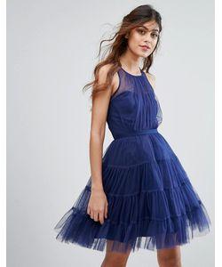 Little Mistress | Ярусное Платье Мини Из Тюля