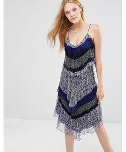Greylin | Шелковое Платье Миди Murakell