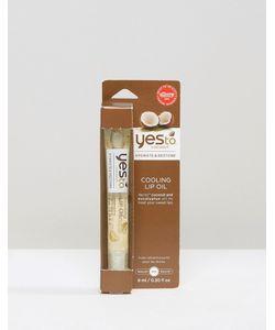 YES TO   Освежающее Масло Для Губ С Кокосовым Маслом 8