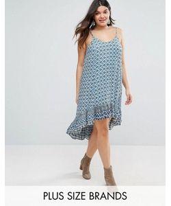 Diya | Платье С Асимметричной Кромкой Plus