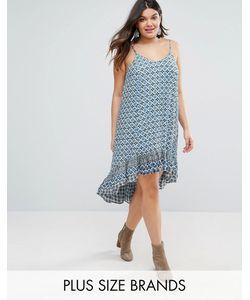 Diya | Plus Dip Hem Dress