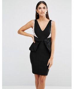 Vesper | Платье Мини С Бантом