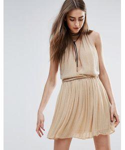 Raga | Телесное Платье Мини С Отделкой Be Mine