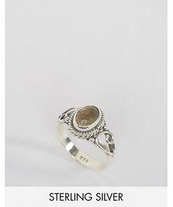 Rock 'N' Rose | Кольцо С Цитрином Камнем Для Родившихся В Ноябре Rock N