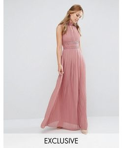 TFNC | Платье Макси С Плиссировкой И Кружевной Отделкой Wedding