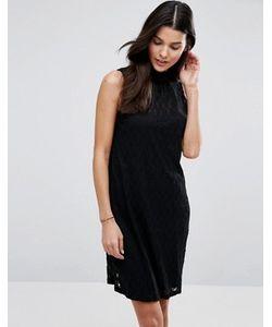 Blend She | Кружевное Платье С Высокой Горловиной Lizzy