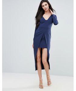 Lavish Alice   Облегающее Платье-Кейп