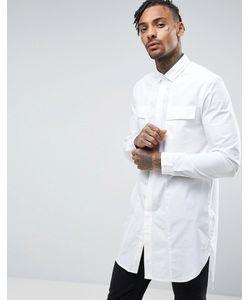 Asos | Удлиненная Рубашка Классического Кроя