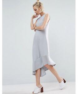 Asos | Платье Миди Асимметричной Длины