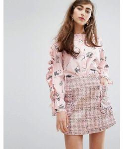 Sister Jane | Рубашка С Принтом И Рюшами