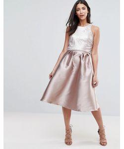 Little Mistress | Платье Для Выпускного С Отделкой На Лифе