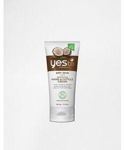 YES TO | Защитный Крем Для Рук И Кутикулы Coconut 85 Г