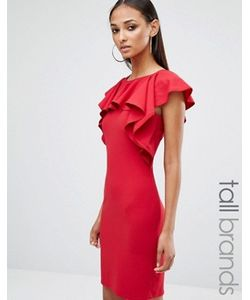 Missguided Tall | Платье Мини С Оборкой