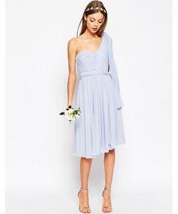 Asos | Сетчатое Платье Миди Wedding