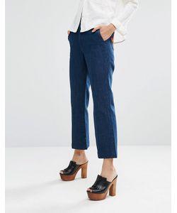 Mih Jeans | Расклешенные Джинсы В Стиле 70Х С Нашивкамизвездами На Карманах M.I.H Jeans